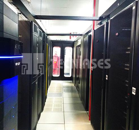 Pasillo Frío Data Center